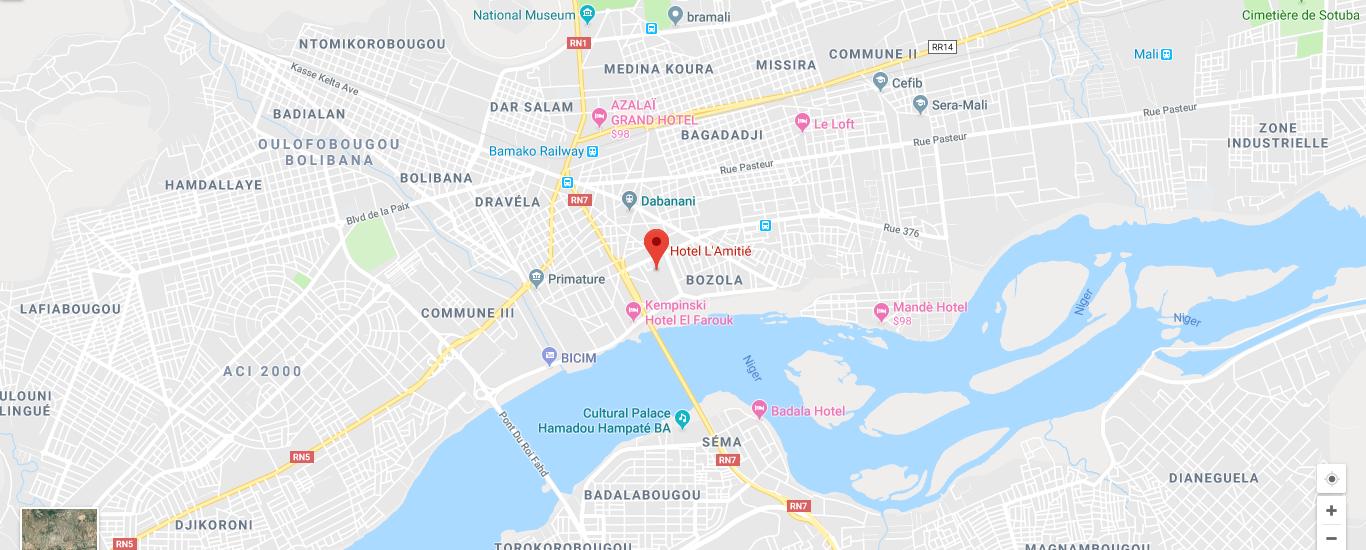 Laico Mali location